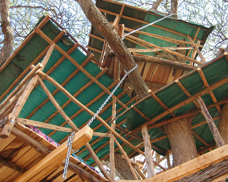 Ief R Amp D Kenyan Tree House Remote Solar